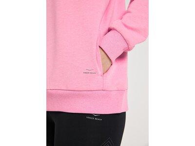 VENICE BEACH Damen Sweatshirt VB_Ree 4037_OB01 Kapuzensweatshirt pink