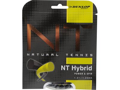 DUNLOP Tennis-Saite Revolution NT Hybrid Set 1,31 Schwarz