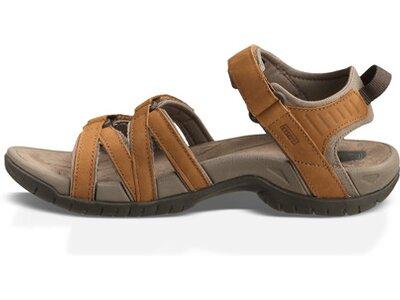 TEVA Damen Sandale Tirra Leder Braun