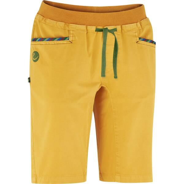 Hosen - EDELRID Damen Glory Shorts II › Gelb  - Onlineshop Intersport
