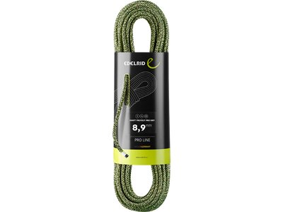 EDELRID Bergseil Swift Protect Pro Dry 8,9mm Grau