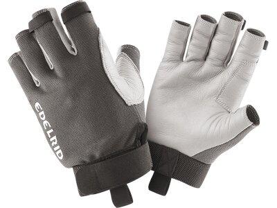 EDELRID Herren Handschuhe Work Open II Grau