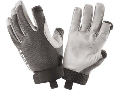 EDELRID Herren Handschuhe Work Closed II Silber