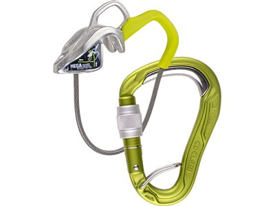 EDELRID Mega Jul Belay Kit Bulletproof Scre Grün
