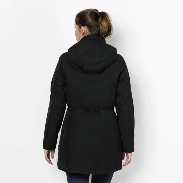 timeless design 4e71e 8bf1f JACK WOLFSKIN Damen Mantel OTTAWA COAT