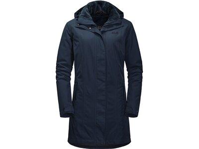 """JACKWOLFSKIN Damen Winterjacke / Parka """"Madison Avenue Coat"""" Blau"""