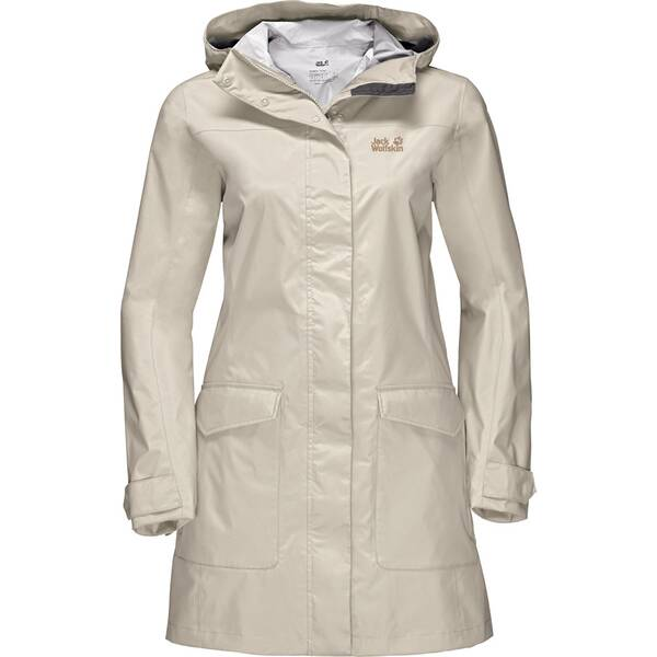 JACK WOLFSKIN Damen Funktionsjacke Crosstown Raincoat
