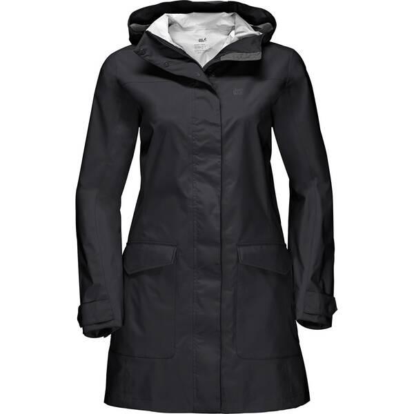 JACK WOLFSKIN Damen Funktionsjacke Crosstown Raincoat