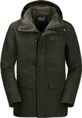 JACK WOLFSKIN Herren Winterjacke WEST COAST JACKET