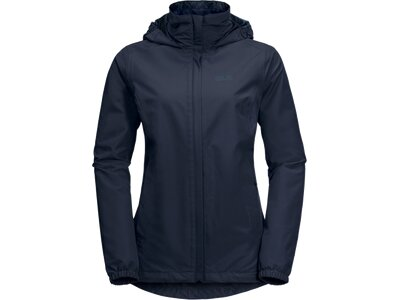 "JACKWOLFSKIN Damen Wanderjacke ""Stormy Point"" Blau"