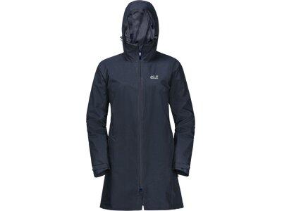 "JACKWOLFSKIN Damen Jacke ""JWP Coat"" Blau"
