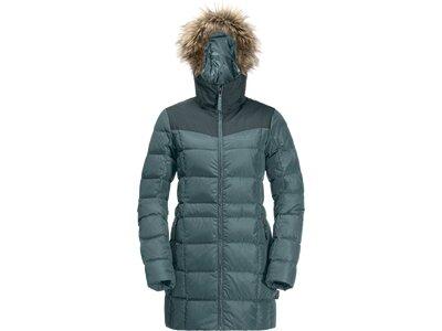 JACK WOLFSKIN Damen Mantel BAFFIN ISLAND COAT Grau