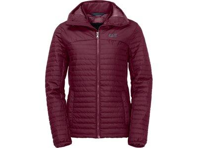 JACK WOLFSKIN Damen Funktionsjacke Clarenville Jacket Rot