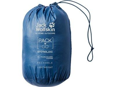 JACK WOLFSKIN Herren Weste JWP Blau