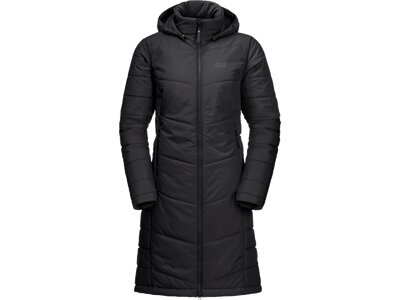 JACK WOLFSKIN Damen Mantel NORTH YORK Schwarz
