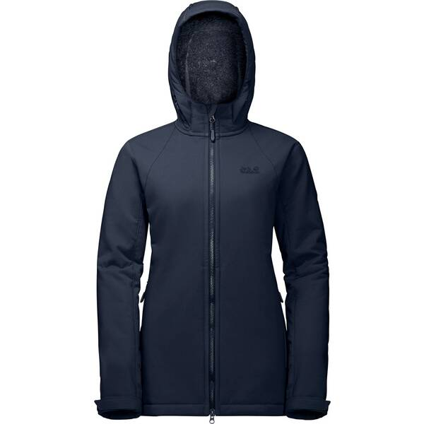 JACK WOLFSKIN Damen Parka ROCK VALLEY LONG JACKET
