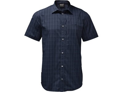 JACK WOLFSKIN Herren Hemd Rays Stretch Vent Shirt M Blau