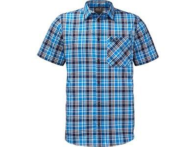 JACK WOLFSKIN Herren Hemd Saint Elmos Shirt Men Blau