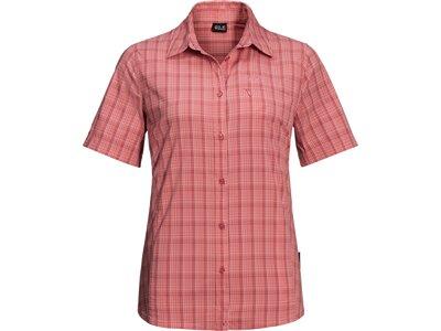 JACK WOLFSKIN Damen Bluse CENTAURA SHIRT W Pink