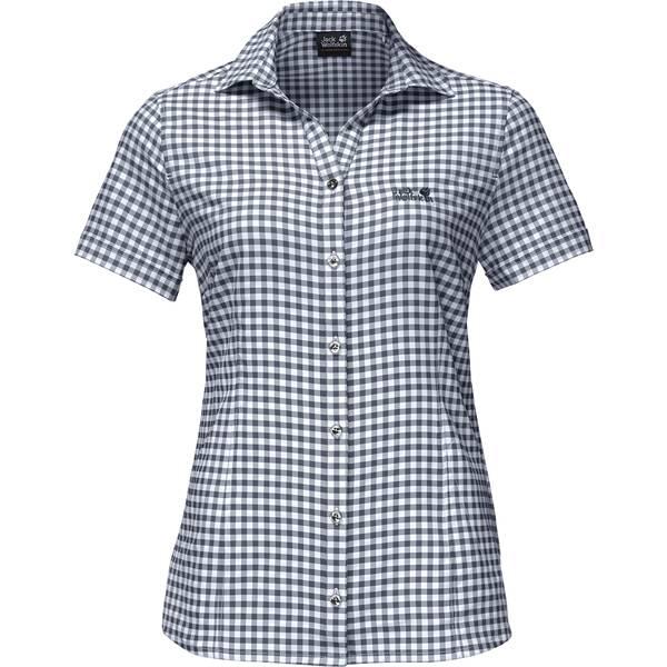 "JACKWOLFSKIN Damen Wanderbluse ""Kepler Shirt"" Kurzarm"