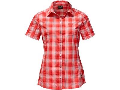JACK WOLFSKIN Damen Hemd Rock Chill Shirt Pink