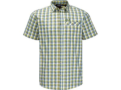 JACK WOLFSKIN Herren Hemd Napo River Shirt Grau