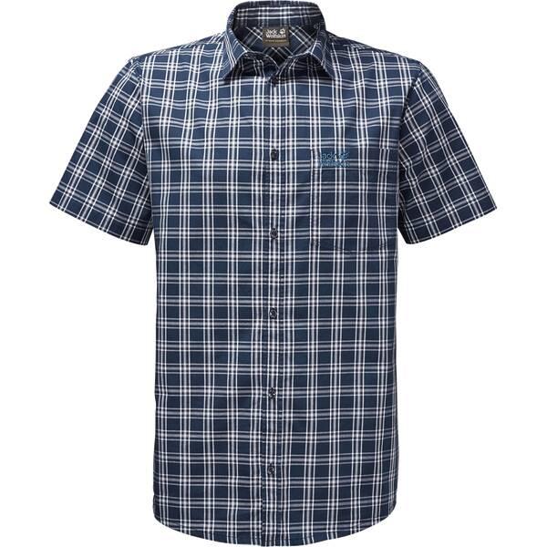 JACK WOLFSKIN Herren Hemd Hot Springs Shirt Blau