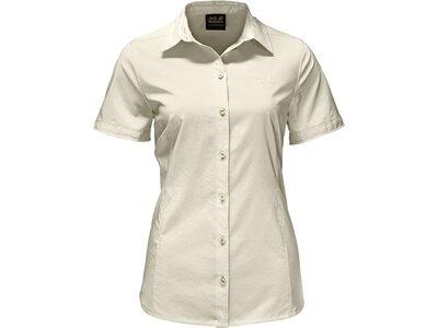 JACK WOLFSKIN Damen Bluse Sonora Shirt Grau