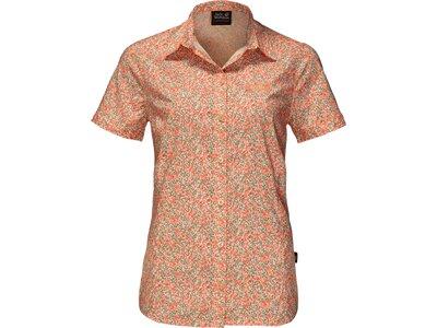 JACK WOLFSKIN Damen Bluse Sonora Millefleur Shirt Pink