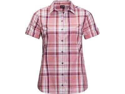 JACK WOLFSKIN Damen Bluse MARONI RIVER SHIRT W Pink