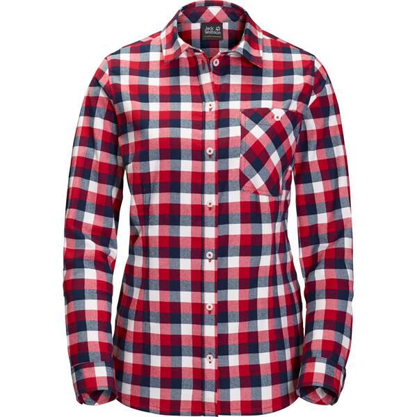 JACK WOLFSKIN Damen Hemd Bow River Shirt