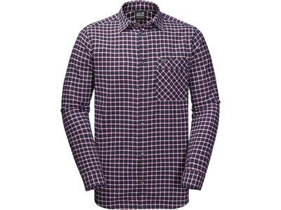 JACK WOLFSKIN Herren Hemd Fraser Island Shirt Blau