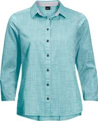 JACK WOLFSKIN Damen Bluse EMERALD LAKE SHIRT W