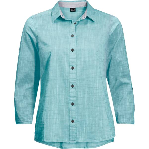 "JACKWOLFSKIN Damen Outdoor-Bluse ""Emerald Lake Shirt Women"" 3/4-Arm"