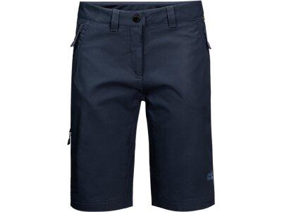 JACK WOLFSKIN Damen Shorts ACTIVATE TRACK SHORTS WOMEN Blau