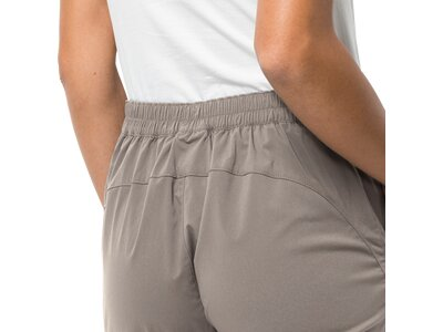 JACK WOLFSKIN Damen Shorts Activate Light 3/4 Pants Grau