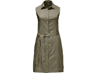 JACK WOLFSKIN Damen Kleid Sonora Dress Braun