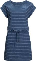 JACK WOLFSKIN Damen Sommerkleid TRAVEL STRIPED DRESS