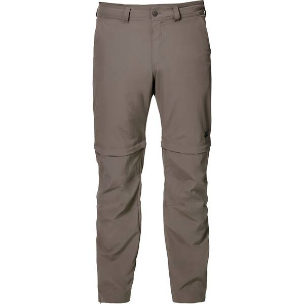 JACK WOLFSKIN Herren Hose Canyon Zip Off Pants Braun