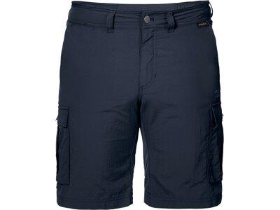 JACK WOLFSKIN Herren Reise- Und Wandershorts Canyon Cargo Shorts Blau