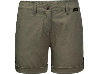 JACK WOLFSKIN Damen Shorts DESERT SHORTS W Braun
