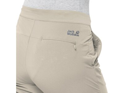 "JACKWOLFSKIN Damen Softshellhose ""JWP Pants Women"" Grau"