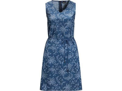 JACK WOLFSKIN Damen Kleid TIOGA ROAD PRINT Blau