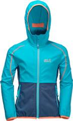 JACK WOLFSKIN Kinder Jacke Turbulence Girls