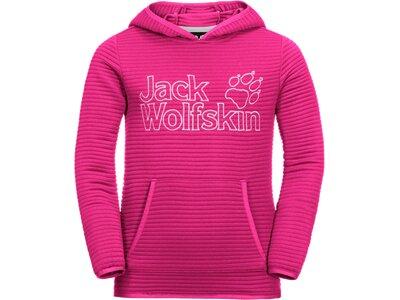 JACK WOLFSKIN Kinder MODESTO HOODY Pink
