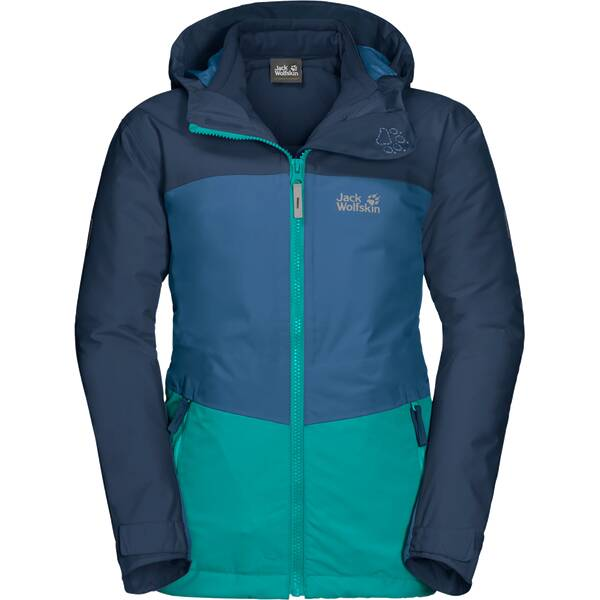 JACK WOLFSKIN Kinder Doppeljacke ARGON ICE 3IN1