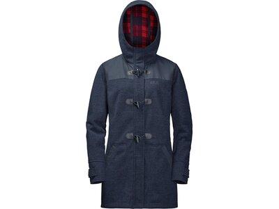 JACK WOLFSKIN Damen Mantel Edmonton Coat Grau