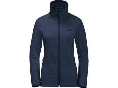 JACK WOLFSKIN Damen Unterjacke Skyland Jacket Blau
