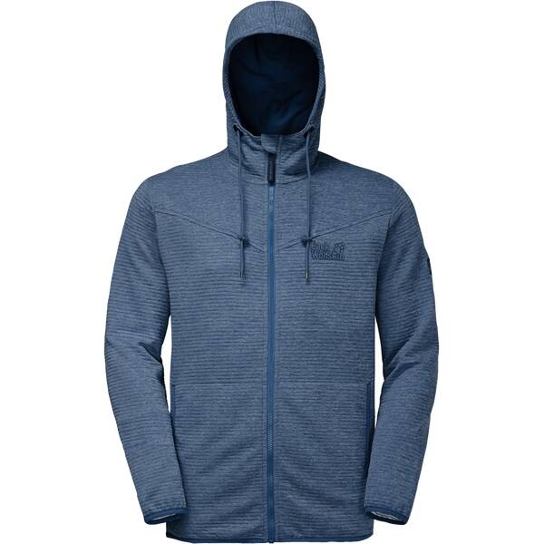 JACK WOLFSKIN Herren Fleecejacke Tongari Hooded Jacket