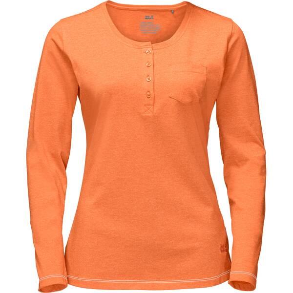 JACK WOLFSKIN Damen Shirt Essential Longsleeve